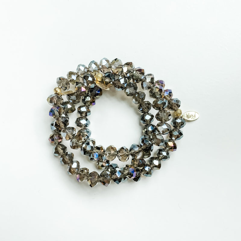 Smokey Glass Bracelet