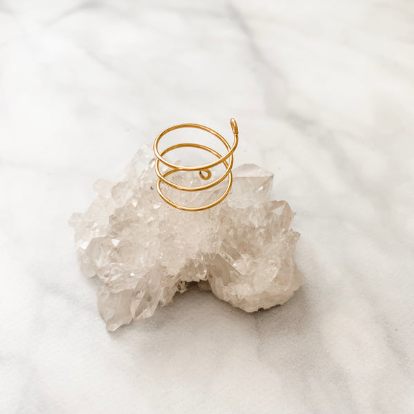 Gold Filled Spiral | Ring