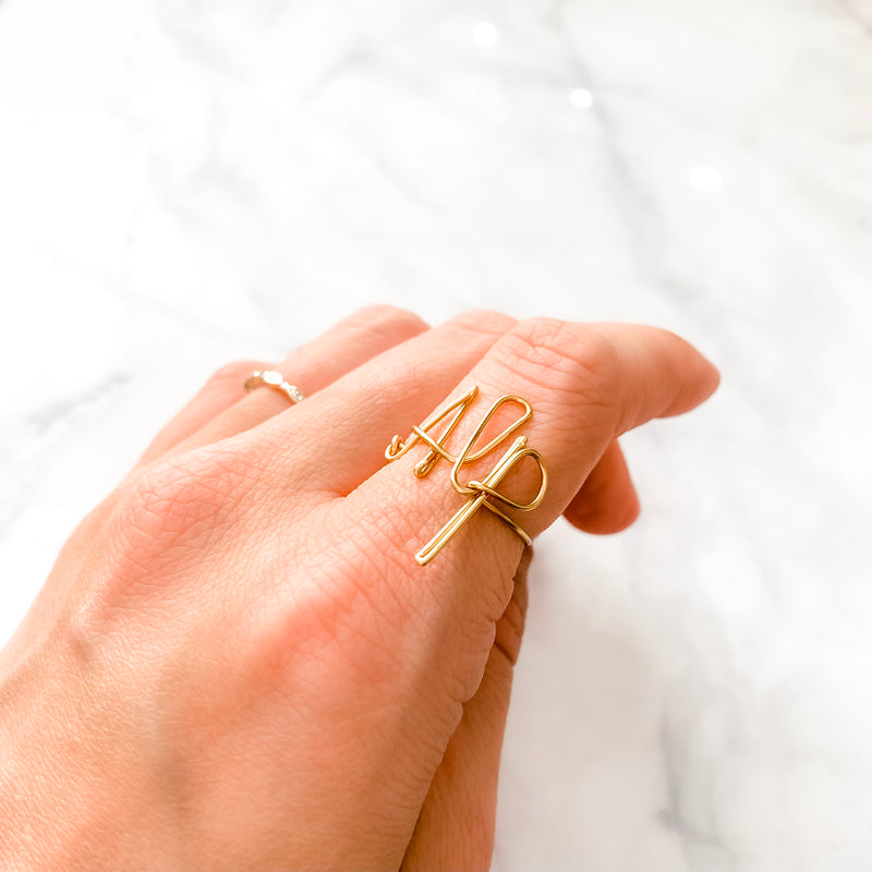 Custom Initial Ring | Rings