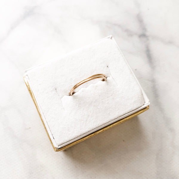 Basic Wrap Ring | Gold Filled