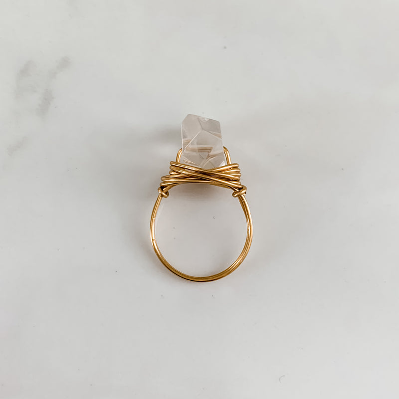 Crystal Quartz | Ring