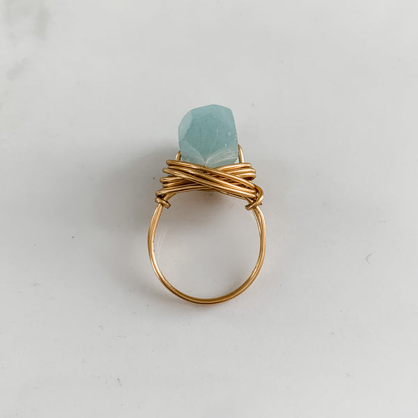 Aquamarine | Ring