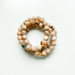Sunstone Gemstone Bracelet