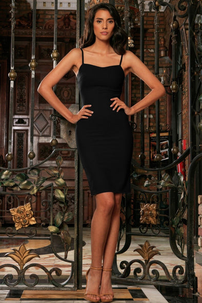 Black Stretchy Sweetheart Bodycon Fancy Cocktail Party Dress - Women - Bougie LV