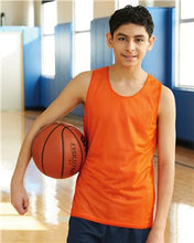 Load image into Gallery viewer, Youth Pro Mesh Reversible Tank Top