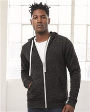 Load image into Gallery viewer, Unisex Triblend Sponge Fleece Full-Zip Hoodie