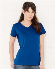 Load image into Gallery viewer, Women's V-Neck Fine Jersey Tee