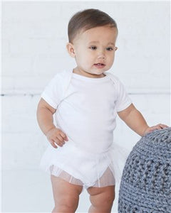 Infant Tutu Baby Rib Bodysuit   Avila dream