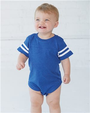 Infant Football Fine Jersey Bodysuit   Avila dream