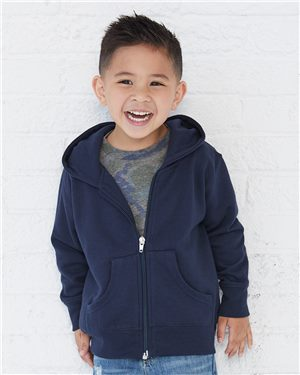 Toddler Full-Zip Fleece Hooded Sweatshirt   Avila dream