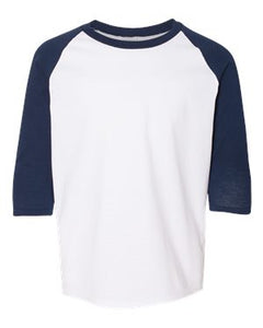 Heavy Cotton™ Youth Raglan Three-Quarter Sleeve T-Shirt