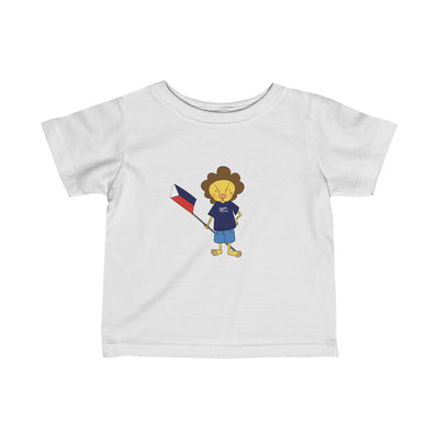 Bruce The Lion Infant Fine Jersey Tee