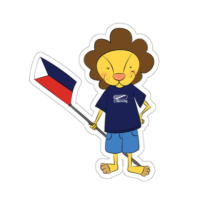 Bruce The Lion Kiss-Cut Stickers