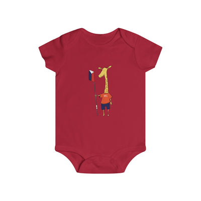 Shorty The Giraffe Infant Onesie