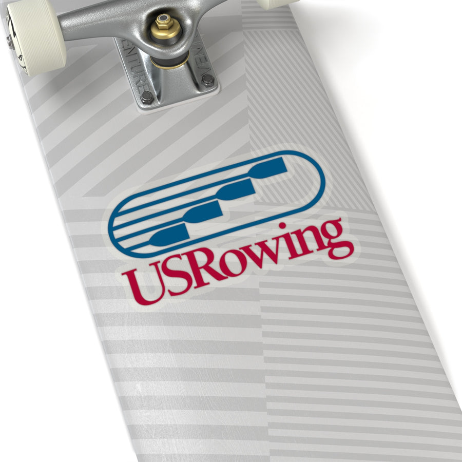 Us Rowing Kiss-Cut Stickers