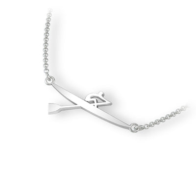 Single Scull Necklace