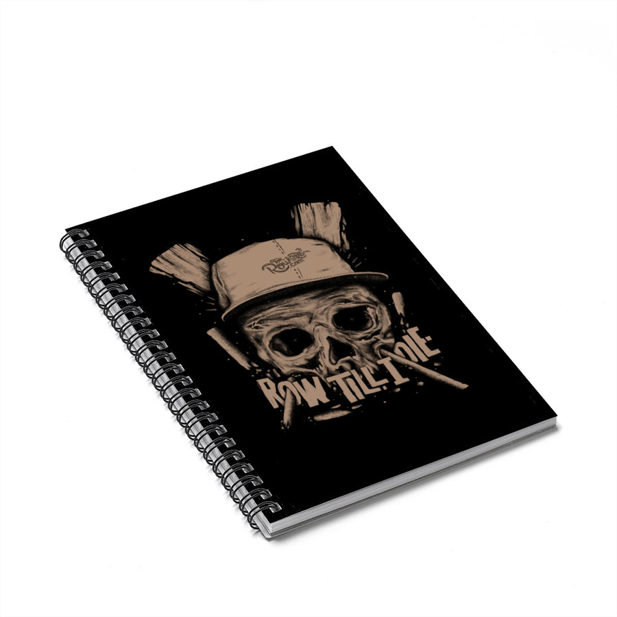 Scull Spiral Notebook - Ruled Line