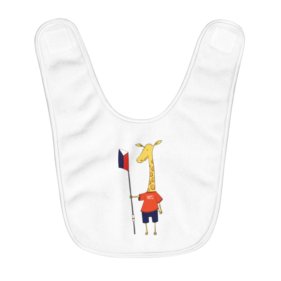 Shorty The Giraffe Baby Bib