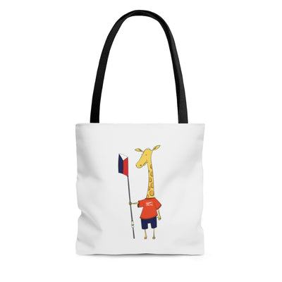 """Shorty"" The Giraffe Tote Bag"