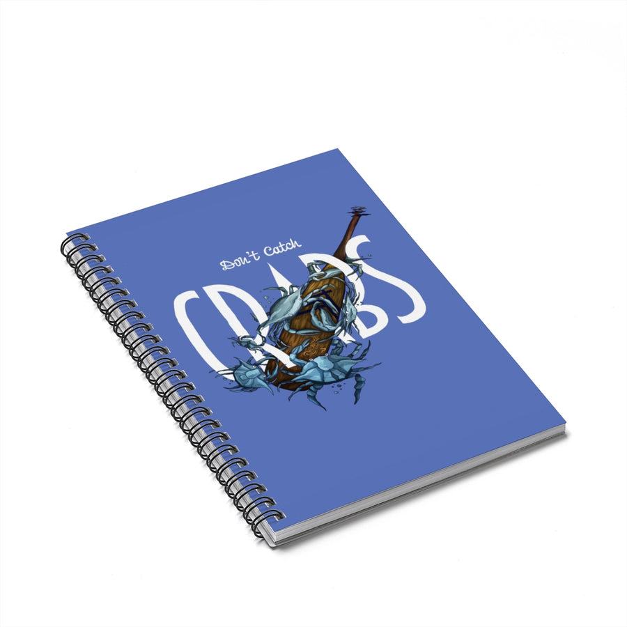 Crabs Spiral Notebook - Ruled Line