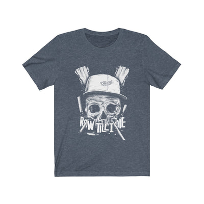 Scull white Unisex Jersey Short Sleeve Tee