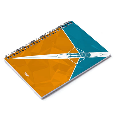Spiral Notebook - Ruled Line - Single Orange