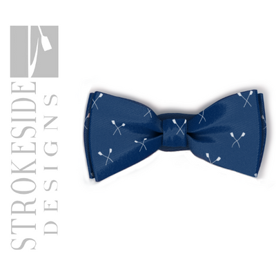 Rowing Bowtie - Strokeside Designs Rowing jewelry- Rowing Gifts Ideas- Rowing Coach Gifts