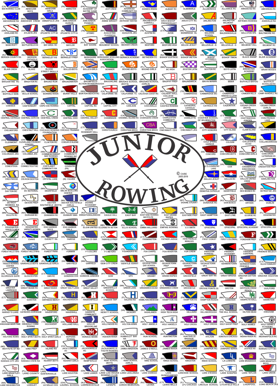 Junior Rowing blades t-shirt