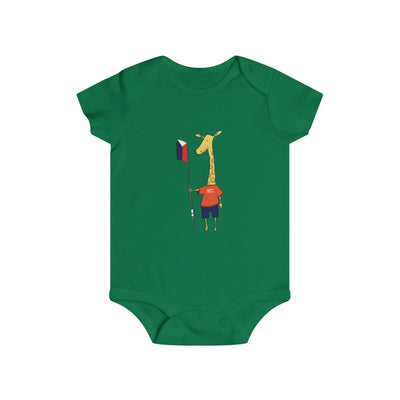 Shorty The Giraffe Infant Rip Snap Tee