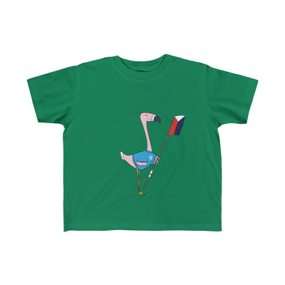Peggy The Flamingo Kid's Fine Jersey Tee