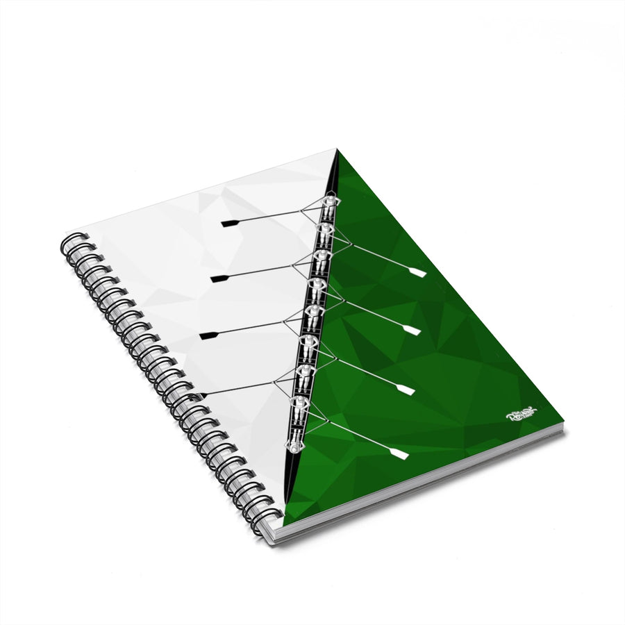 8+ Green Spiral Notebook - Ruled Line