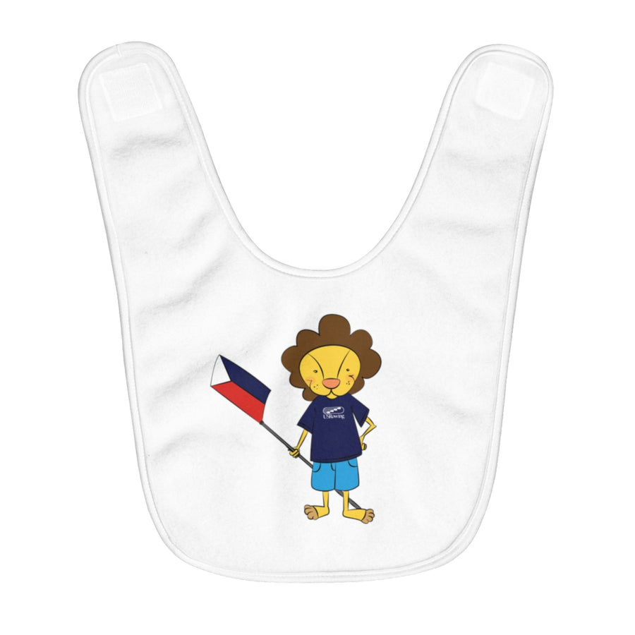 Bruce The Lion Baby Bib