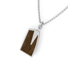 Rowing Jewelry Pendant Oakwood