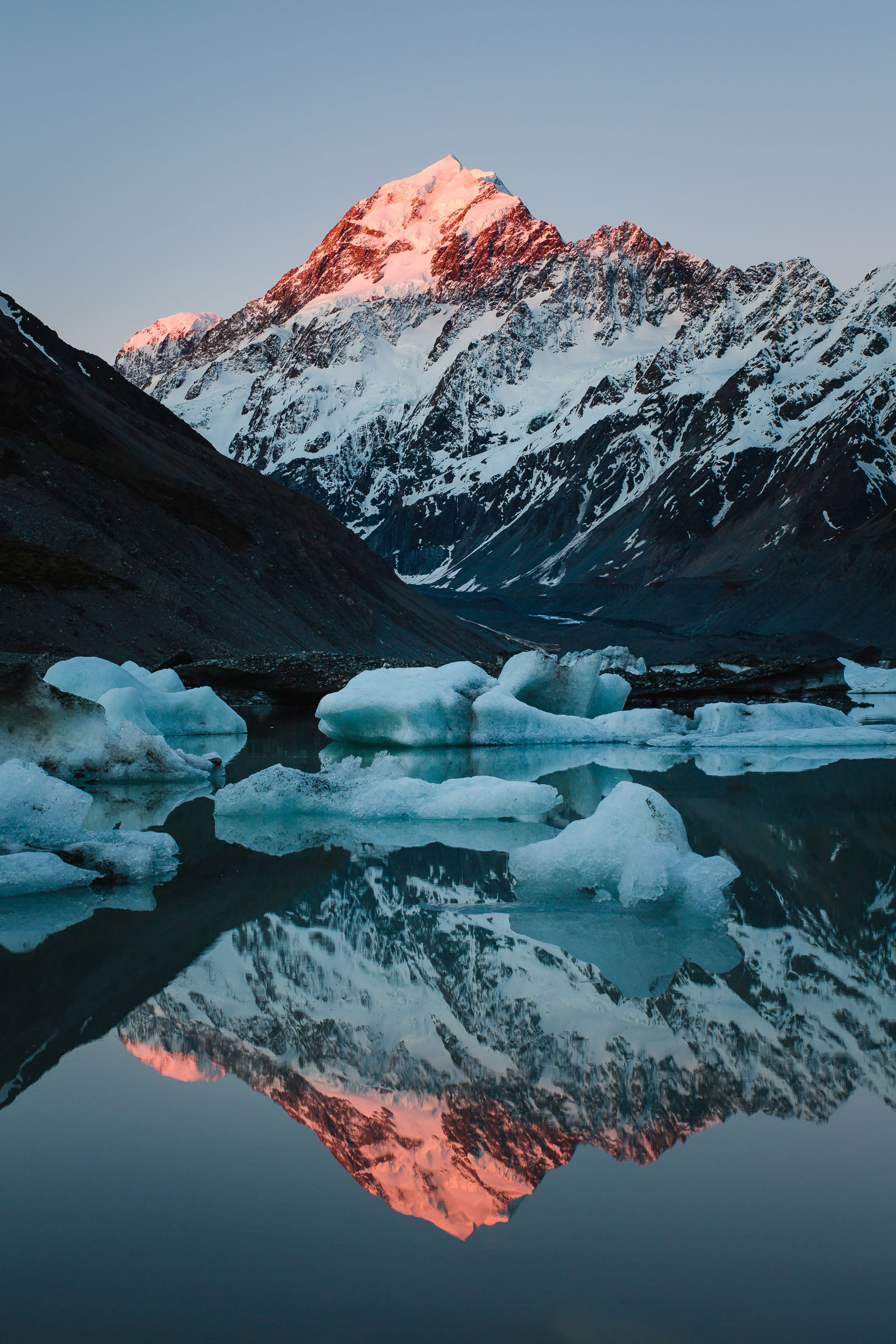 Mt Cook Reflections