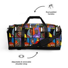 MY HEROES Duffle bag