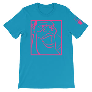MIGHTY JIM (OUTLINE PINK) T-Shirt