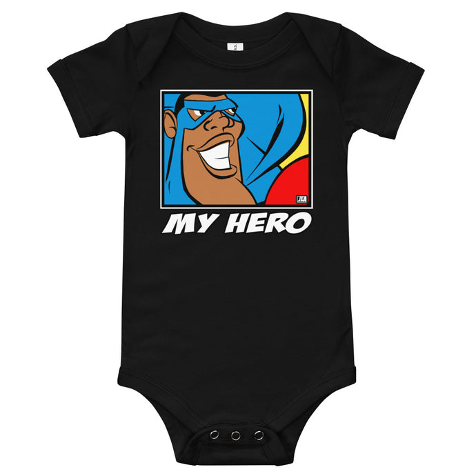 MIGHTY JIM (THE HERO) BODYSUIT