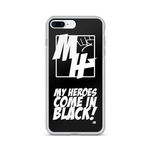My Hero Logo/My Heroes come... iPhone Case