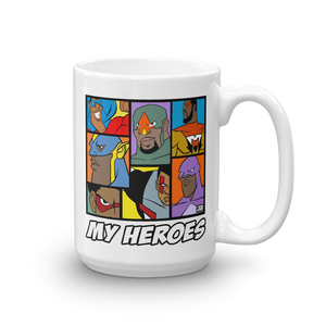 MY HEROES (TEAM UP) MUG