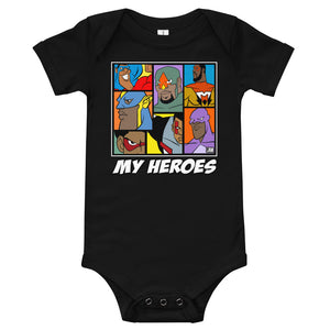 MY HEROES (TEAM UP) BODYSUIT