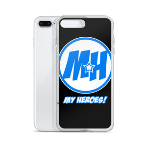 MY HEROES LOGO (BLUE) IPHONE CASE