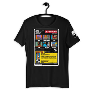MY HEROES (BACKBOARD) T-SHIRT