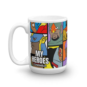 MY HEROES ALL OVER (TEAM UP) MUG
