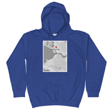 Vallejo's on the Map Kids Hoodie
