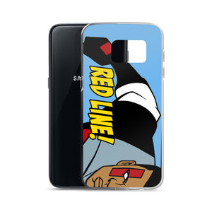 RED LINE Samsung Case