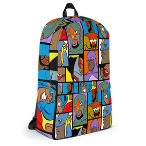 MY HEROES ALL OVER (TEAM UP) BACKPACK