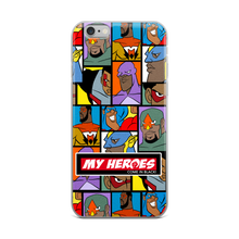 My Heroes (wall paper) iPhone Case