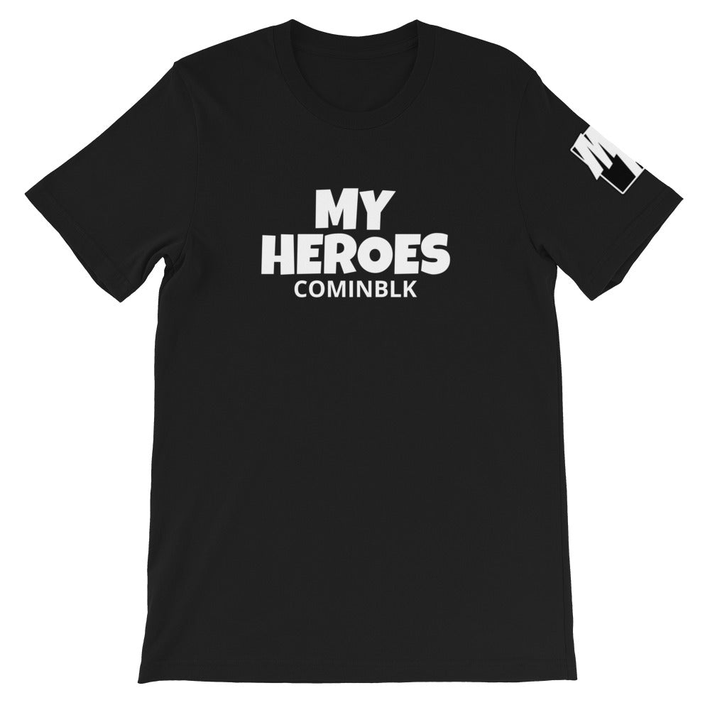 MY HEROES (COMINBLK) T-SHIRT