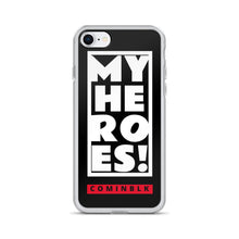 My Heroes (COMINBLK) iPhone Case
