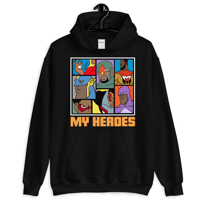 MY HEROES (TEAM UP) HOODIE